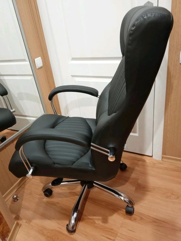 Кресло руководителя Геркулес Хром. - Фото 4