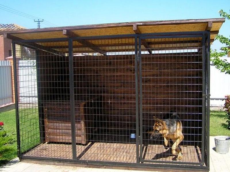 Вольеры буды для собак - Фото 11