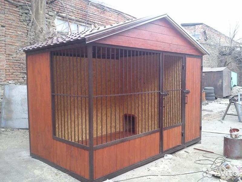 Вольеры буды для собак - Фото 14