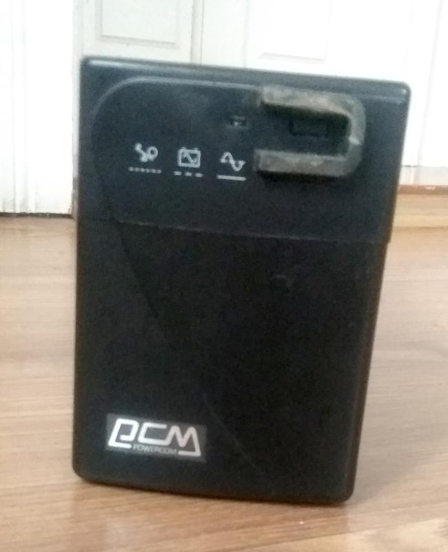 Бесперебойник ИБП Powercom Black Knight BNT-600A - Фото 3