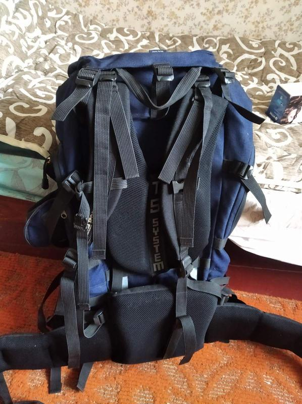Рюкзак туристический на 60 литров в идеальном состоянии - Фото 2