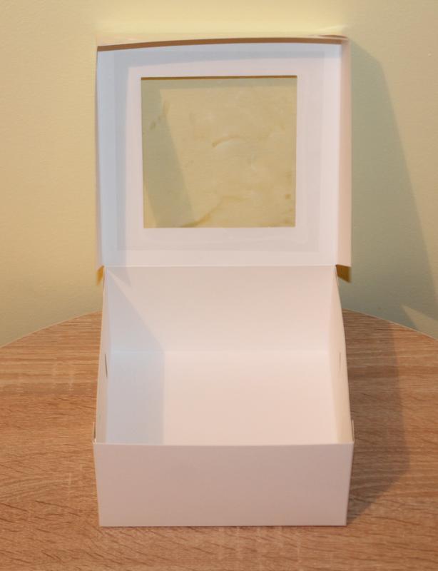 Коробка на 4 кекса - Фото 2