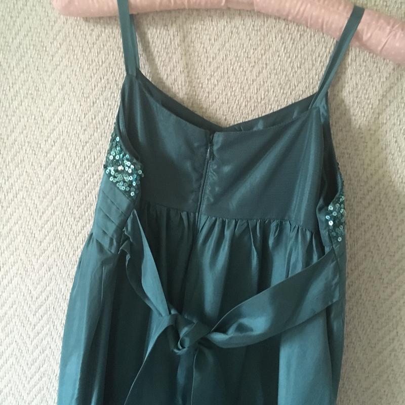 Нарядное платье на бретелях сарафан - Фото 2