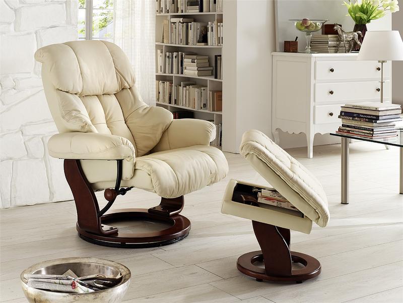Кресло релакс и подставка для ног - Фото 3