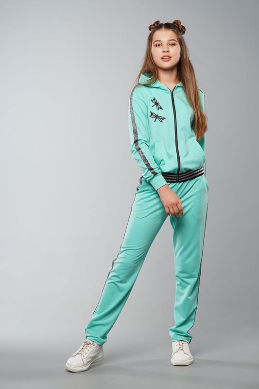 Мадлен - детский спортивный костюм, цвет мята