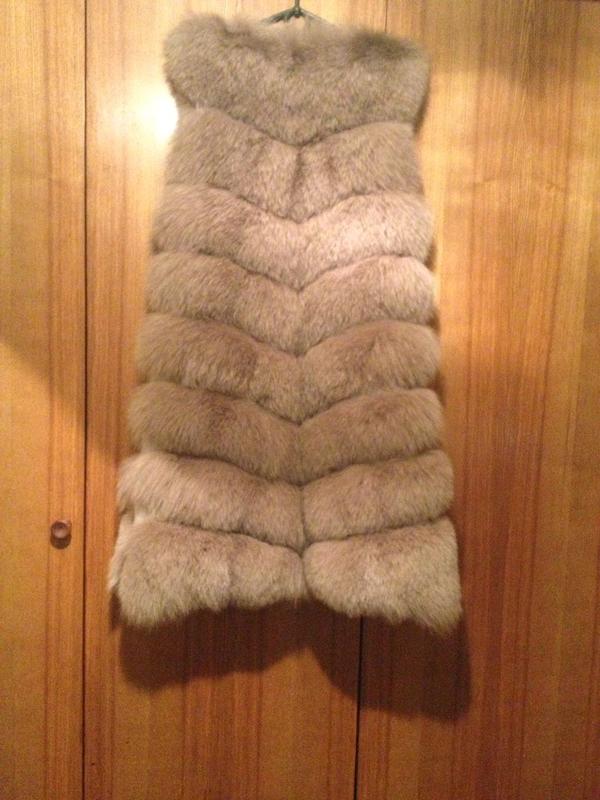 Продам меховую жилетку из Песца - Фото 3