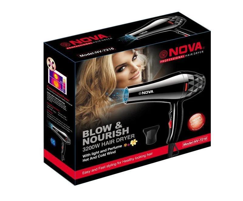 Фен для волос Nova NV-7216 3200 Вт - Фото 8