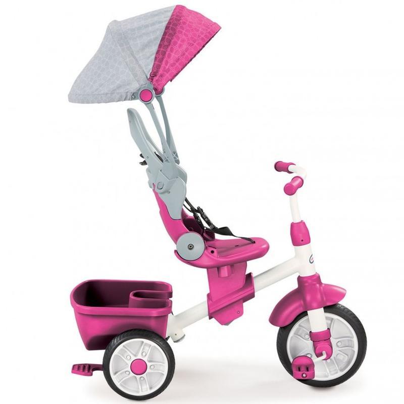 Детский велосипед Perfect Fit 4 в 1 Trike Pink Little Tikes 63...