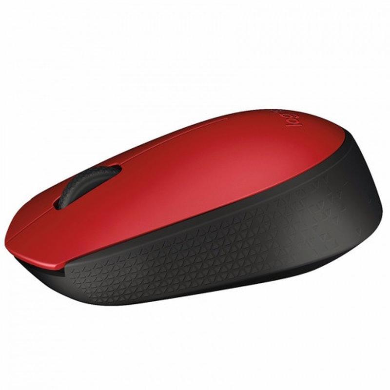 Мышь беспроводная Logitech M171 (910-004641) Red/Black USB