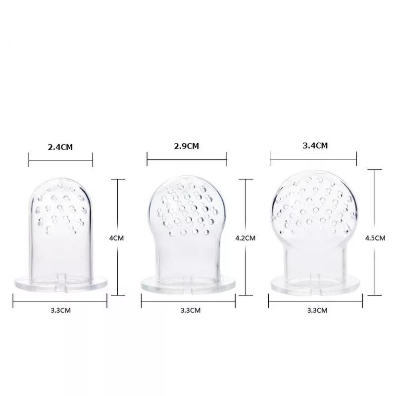 S,M,L и насадки | Ниблер силиконовый для введения прикорма - Фото 6