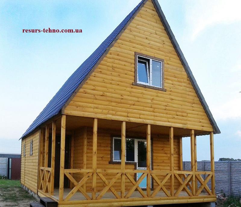 Дачные дома для зимы и лета