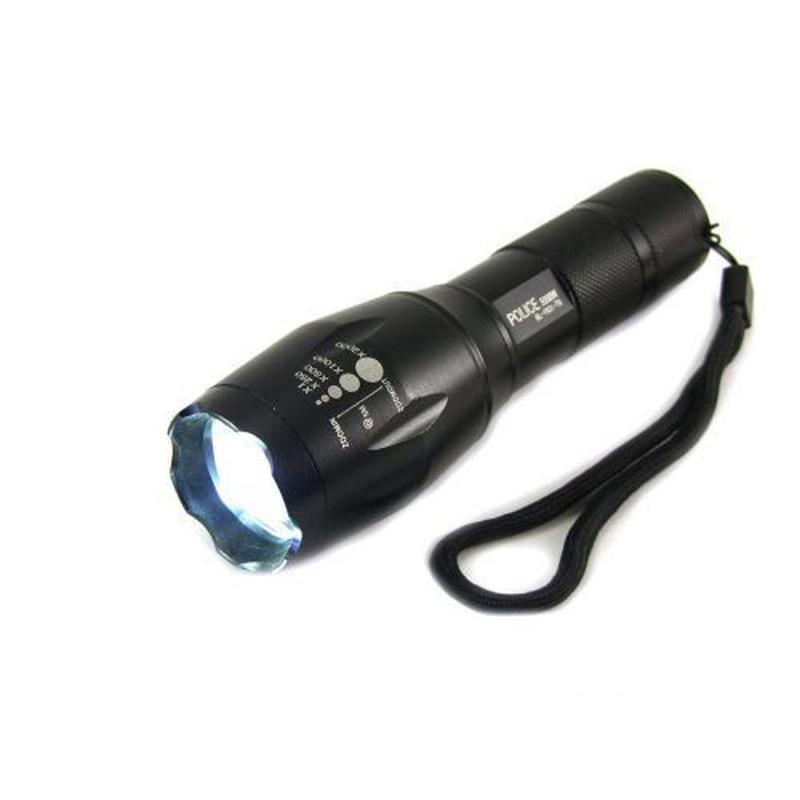 Фонарик тактический POLICE 158000W BL-1831-T6, ручной фонарь а...