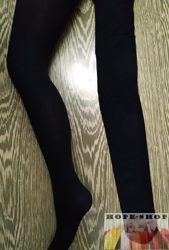 💞колготки primark 40 denier weather sensor finish opaque tights - Фото 5