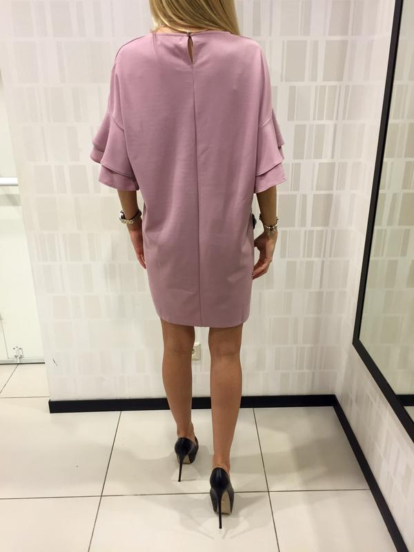 Шикарное платье пудрового цвета фирмы mohito. - Фото 3