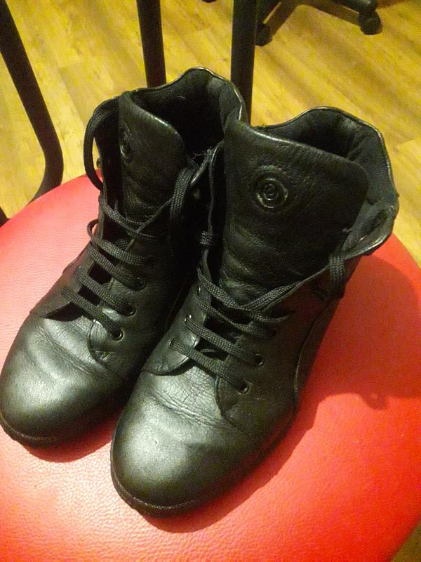 Ботинки eccco - Фото 2