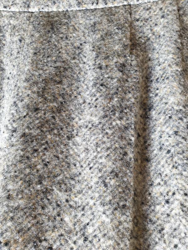 Шерстяные брюки с высокой посадкой прямые max mara - Фото 4