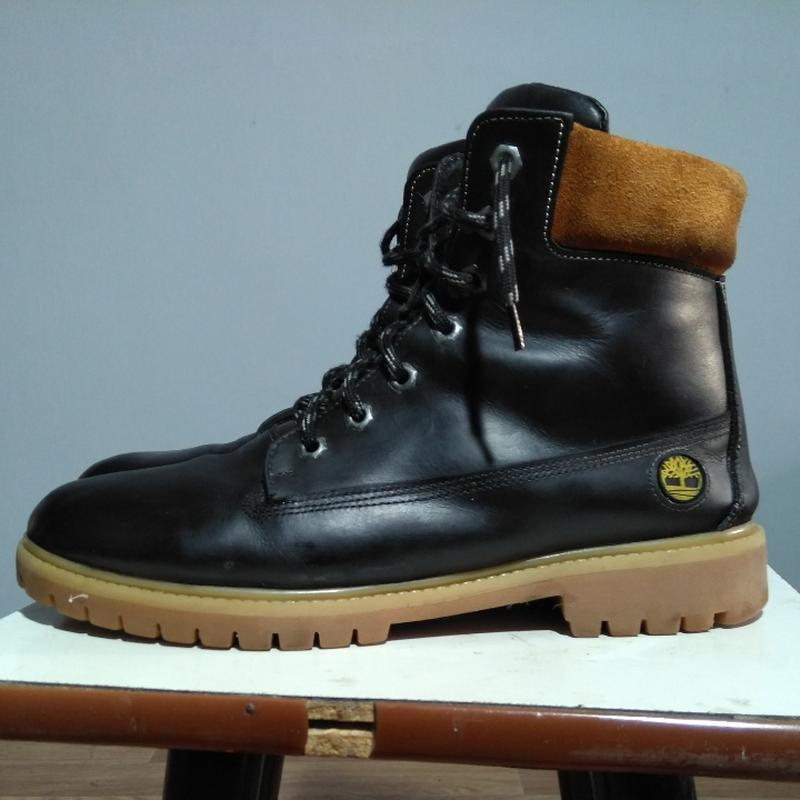 Кожаные змние ботинки - Фото 2
