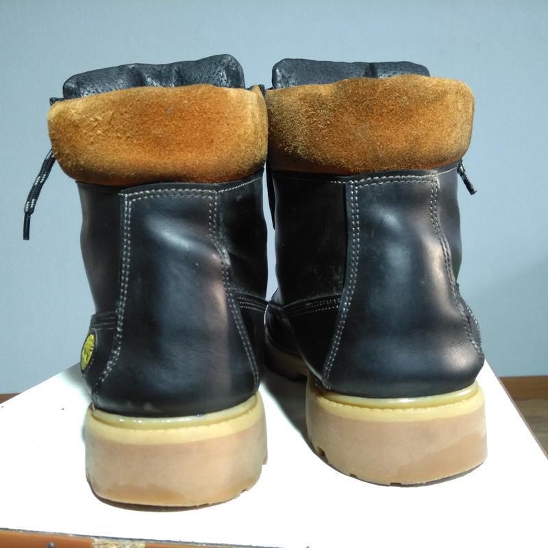Кожаные змние ботинки - Фото 3