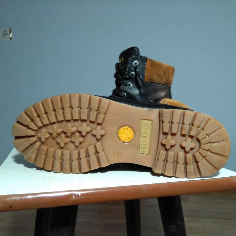 Кожаные змние ботинки - Фото 4
