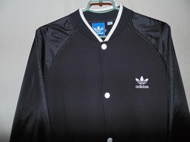 Куртка бомбер adidas оригинал утепленный на осень , состояние ... - Фото 9