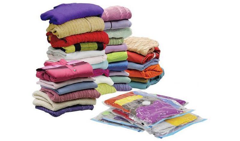 Вакуумний пакет для одягу VACUUM BAG 60 х 80 см вакуумный паке...