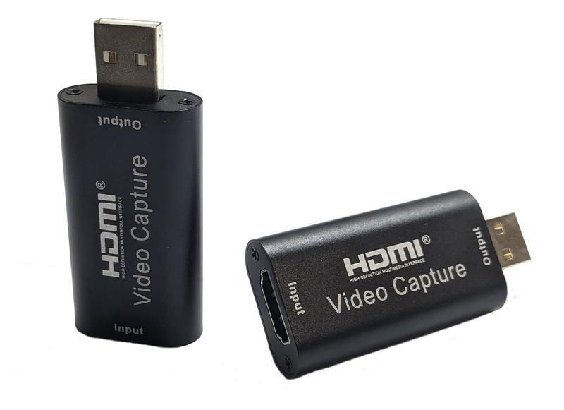 Внешняя HDMI to USB карта видеозахвата