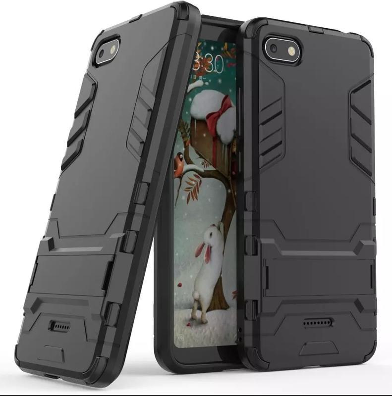 Чехол,  Бампер для Huawei P20 Lite - Противоударный с подставкой