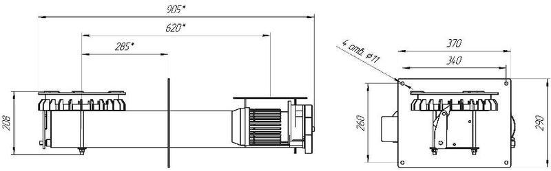 Пеллетная горелка CREDO 08VD 125 кВт - Фото 3