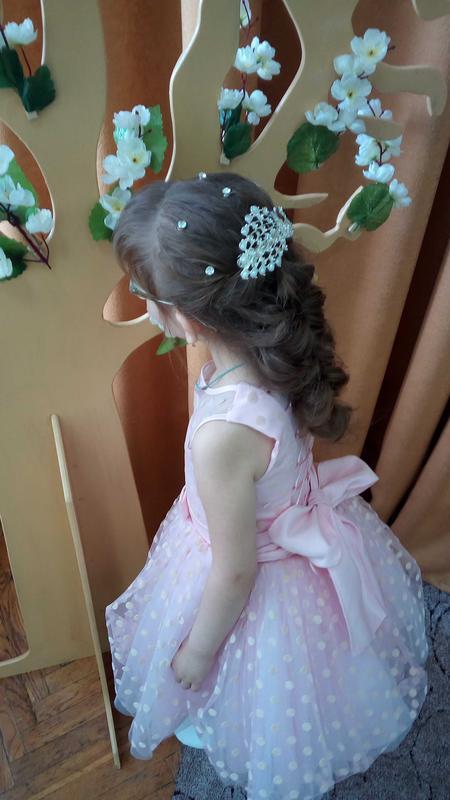 Пышное праздничное платье