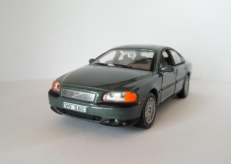 модель Volvo S80, Cararama/Hongwell масштаб 1:43 RARE/Раритет