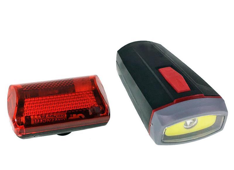 Велонабор (фонарь передний и задний) XBalog BL-808 5W COB + 5 ...