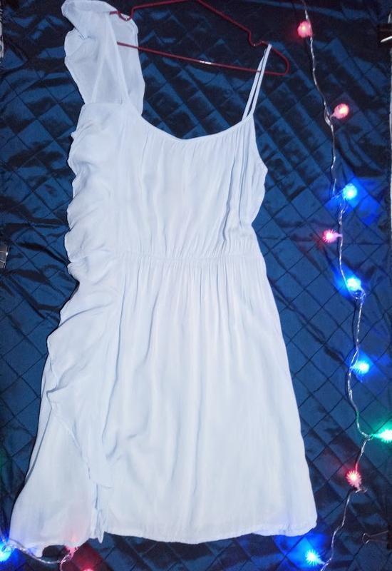Чудесное ,нежное платье,сарафан асимметрия. - Фото 2