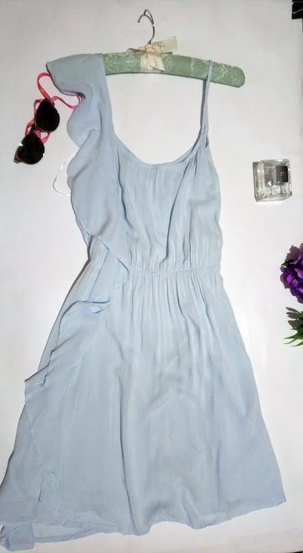 Чудесное ,нежное платье,сарафан асимметрия. - Фото 3