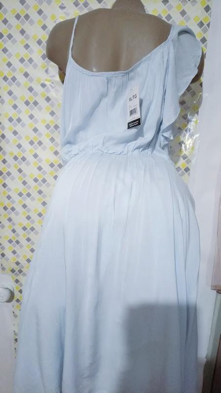 Чудесное ,нежное платье,сарафан асимметрия. - Фото 4