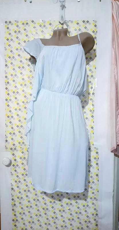 Чудесное ,нежное платье,сарафан асимметрия. - Фото 5