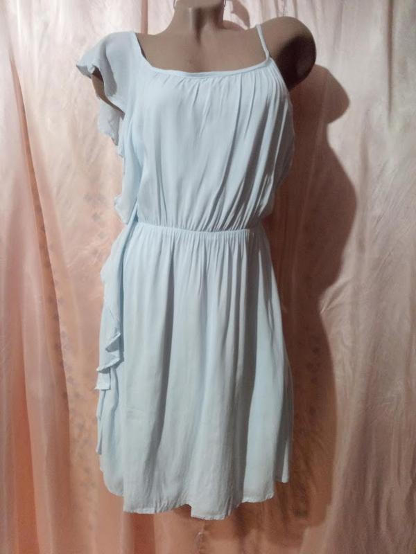 Чудесное ,нежное платье,сарафан асимметрия.