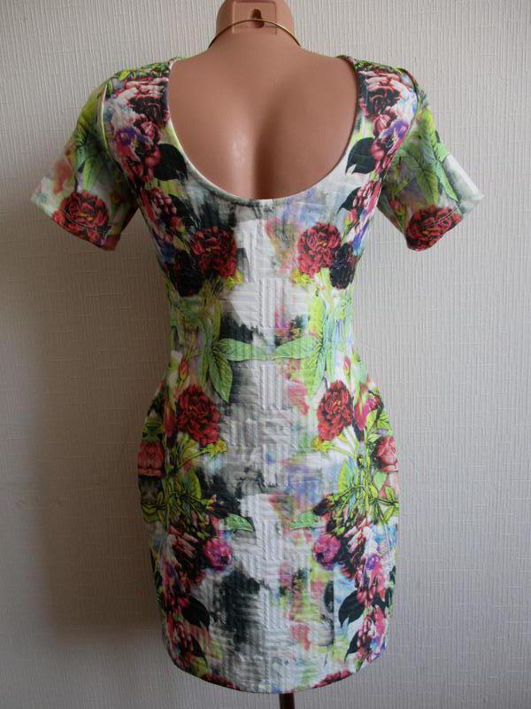 Платье в цветочный принт asos - Фото 5