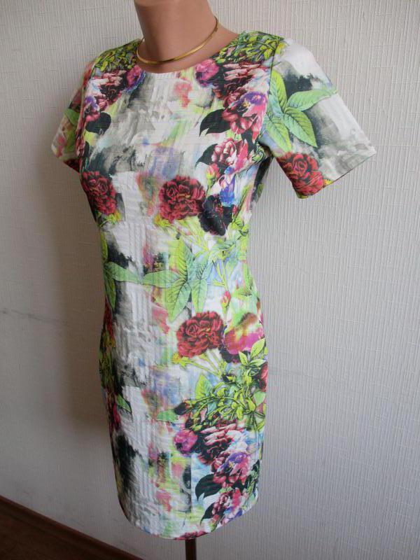 Платье в цветочный принт asos - Фото 6