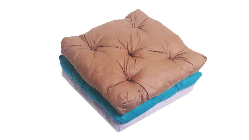 Подушка-сидушка для стула 40х40х4(5) СУПЕРЦЕНА - Фото 2