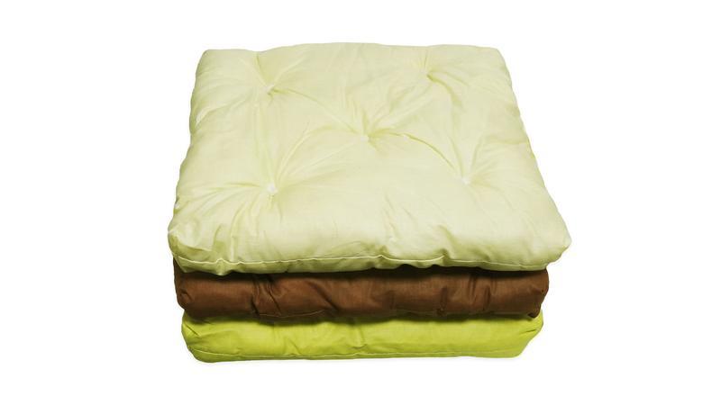 Подушка-сидушка для стула 40х40х4(5) СУПЕРЦЕНА - Фото 3