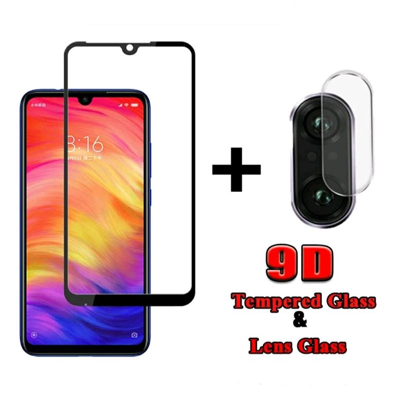 Защитное стекло для экрана и камеры xiaomi redmi note 7