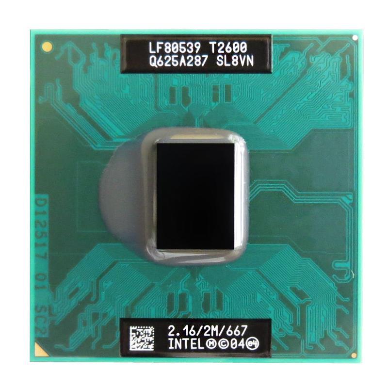 Процессор Intel Core 2 Duo T2600 (2.16 GHz) + термопаста