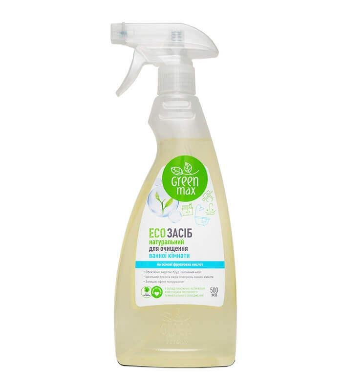 Натуральное чистящее средство для ванной комнаты Green Max