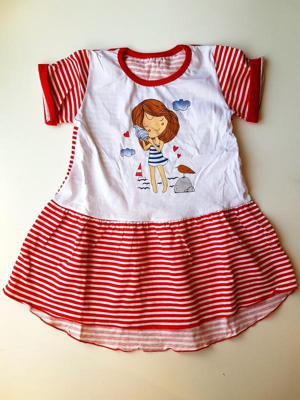 Туника-платье для девочки 64 122