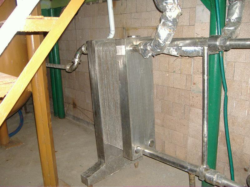 Пастеризатор пластинчастий-охолоджувач