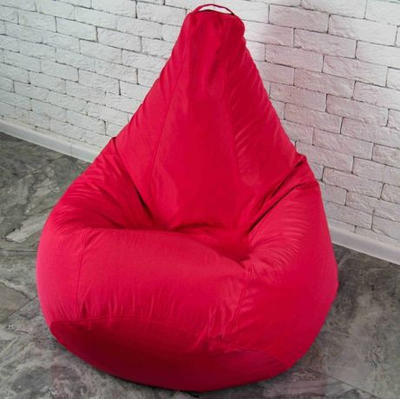 Бескаркасное кресло мешок груша, XL. Мягкий пуф, мебель произв... - Фото 5