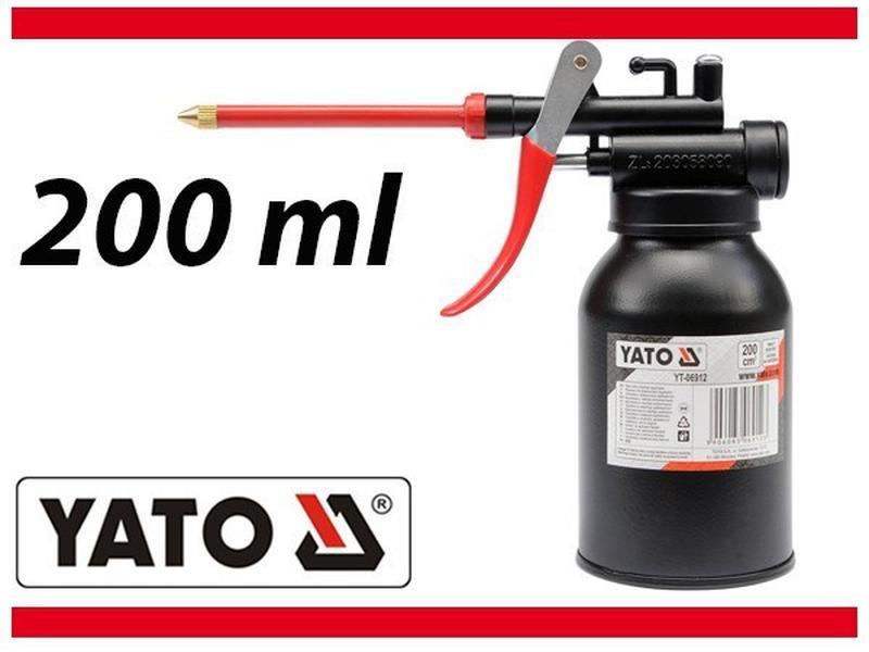 Масленка-нагнетатель рычажная с гибким шлангом , 200 мл YATO Y...