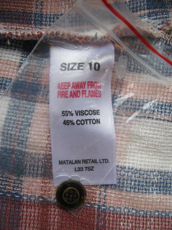 Рубашка-туника falmer heritage, вискоза хлопок, размер м-ка - Фото 2