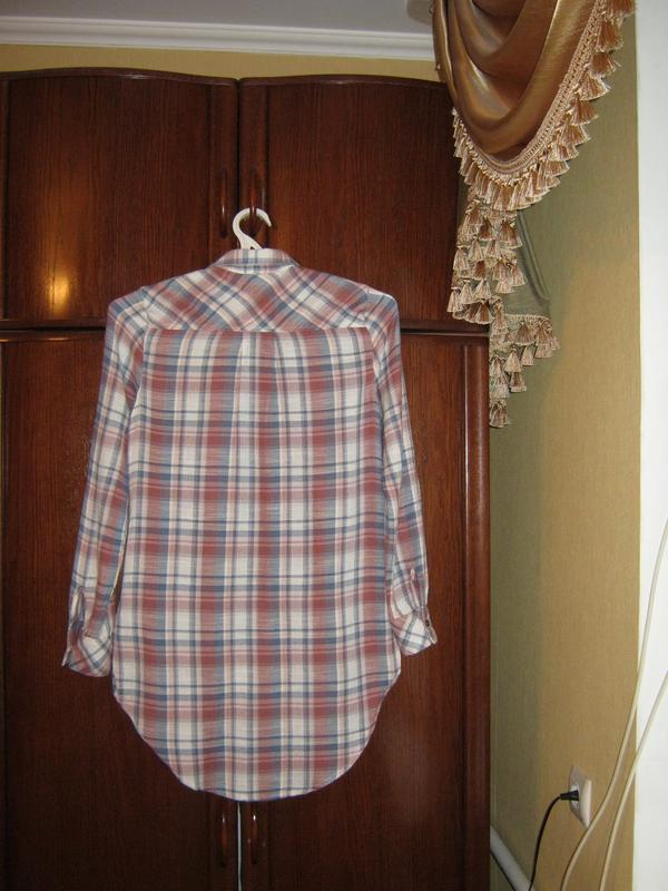 Рубашка-туника falmer heritage, вискоза хлопок, размер м-ка - Фото 4