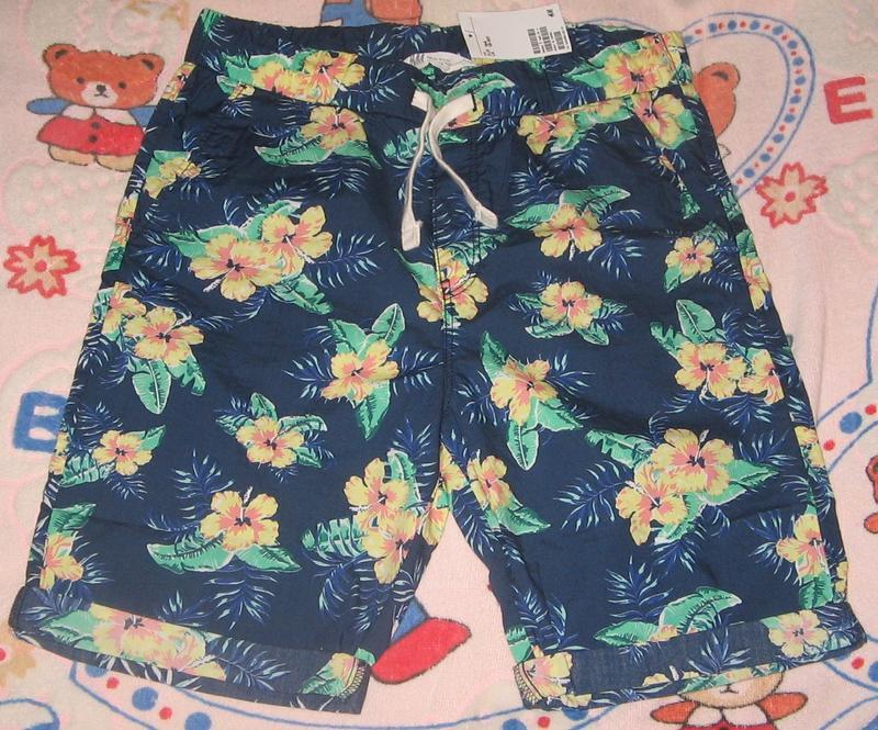 яркие шорты H&M